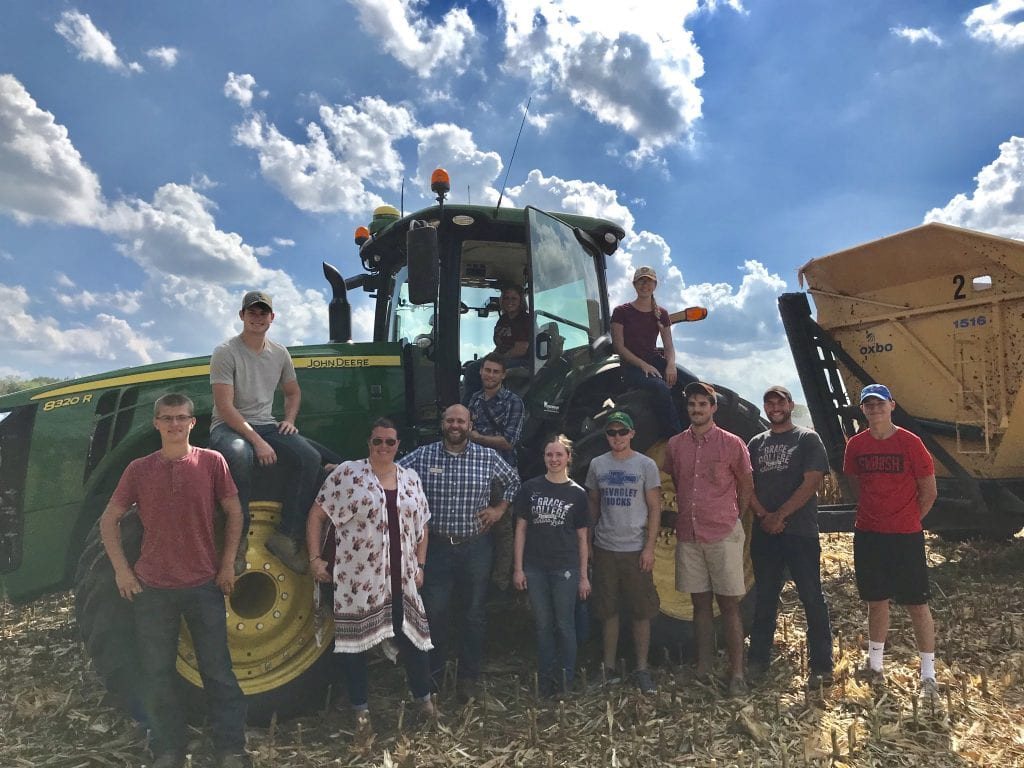 Agribusiness Class on Tractor
