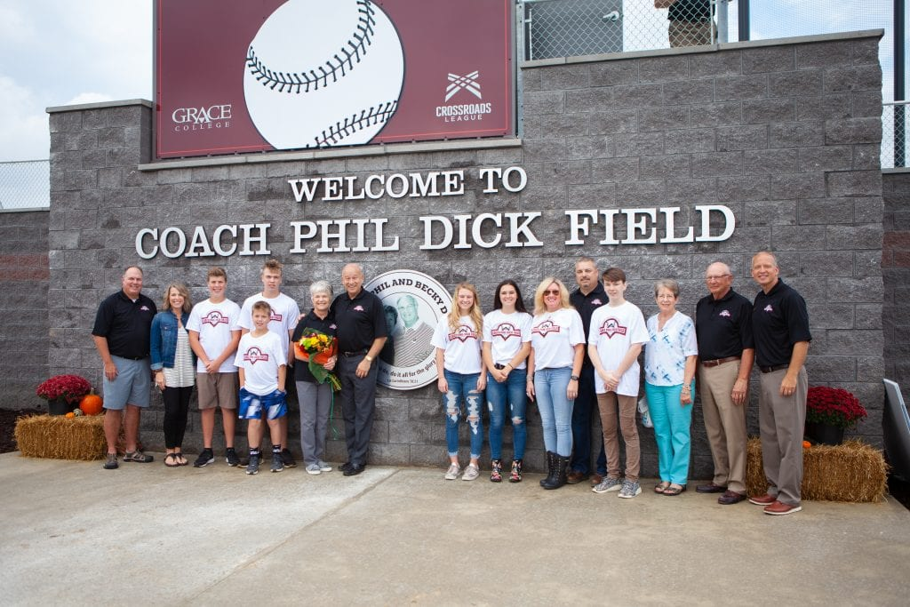 Donors Advancement Coach Dick Field