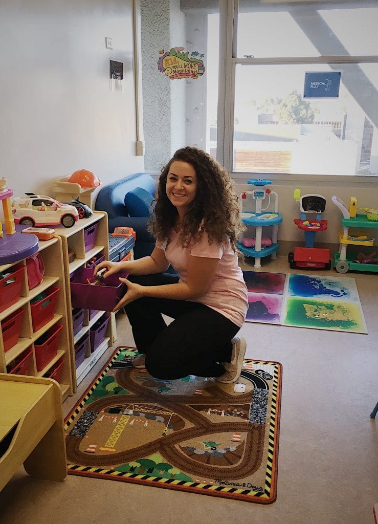 Grace grad shares how bachelor's degree in psychology led her to find out, what is a child life specialist. See our child life programs.