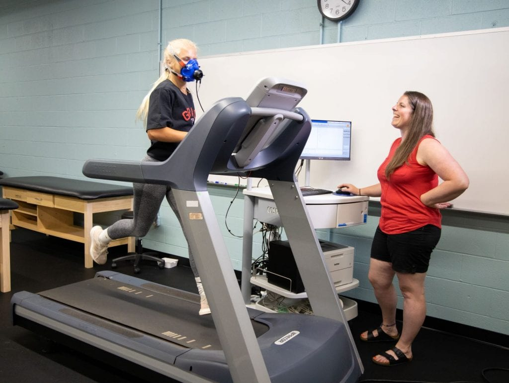 V02 Max Machine Grace College for physical therapy