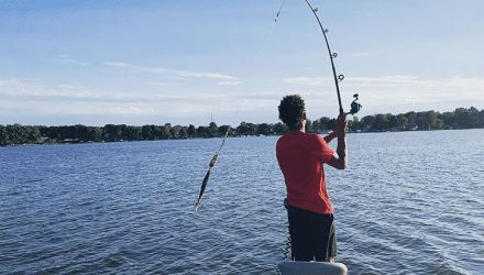 Eddie Gill IV is teaching people to fish