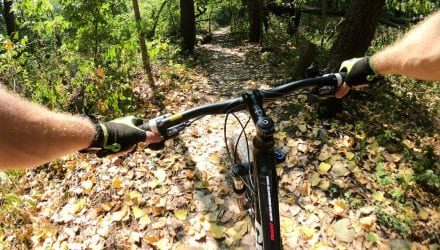 Mountain Bike Trails Tip the Scale for Northern Indiana Resident