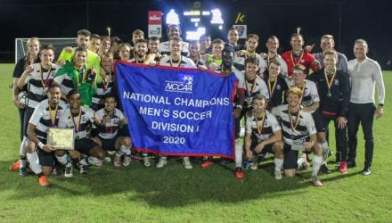 2020 NCCAA Champs Men's Soccer