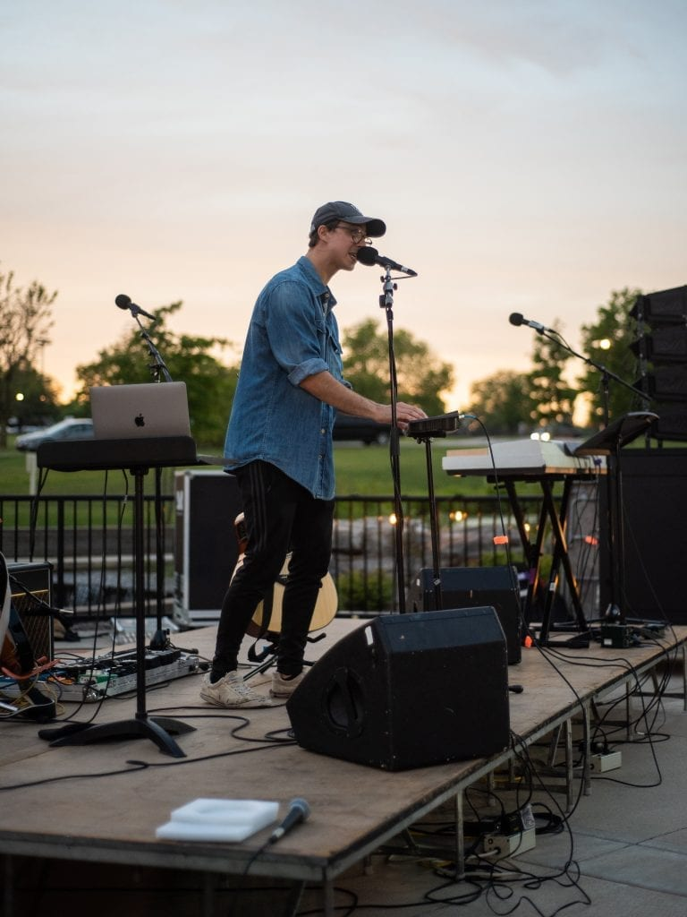 How Warsaw-native artist 'Sam Ule' is building a career as a full-time musician at Grace College