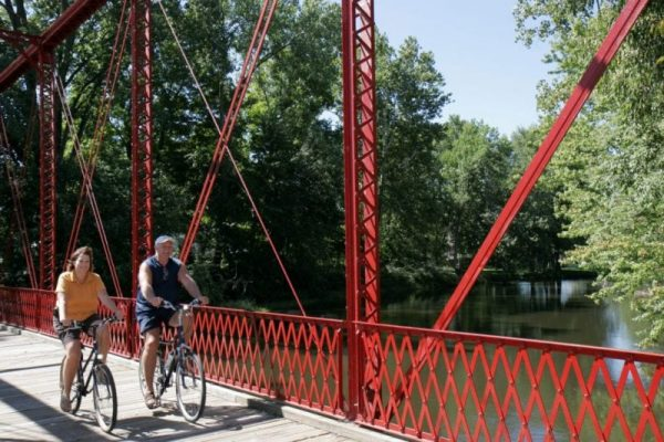 Chinworth Bridge bike trails near me in Warsaw