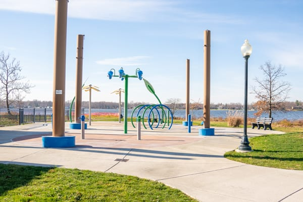 Winona-Lake-Limitless-Park near Grace College