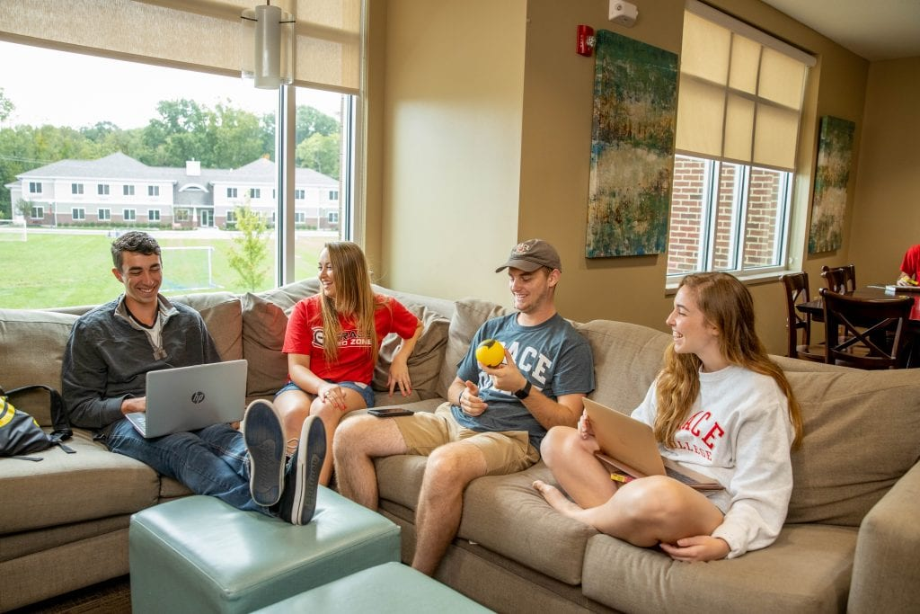 Grace College Students in Dorms-Choosing a College